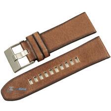 New Original DIESEL Replacement Watch Strap DZ4280 BROWN Genuine Leather 26mm