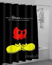 New Arrival Mickey Mouse Hot Design High Quality Shower Curtain 60 x 72 Inch