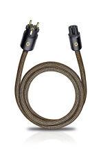 OEHLBACH XXL® Powercord High-End Netzkabel / 2-fach Schirmung, C15/CEE7 - 3m
