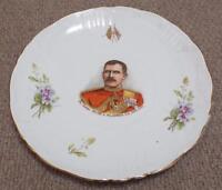 Major General Hector A. MacDonald Antique Plate - Boer War