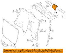 MERCEDES OEM SLK55 AMG Top Well-Rear Body & Floor-Speaker Cover 17282701409051