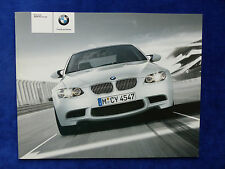 BMW M3 Coupe E92 - Prospekt Brochure 01.2007