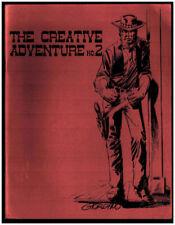THE CREATIVE ADVENTURE No.1 Comic Fanzine DICK GIORDANO 1972 Western ART Cover