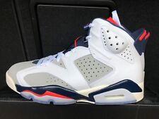 Air Jordan 6 VI Retro Tinker 384664-104 White Infrared Basketball Shoes Sneakers