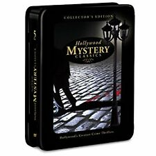 HOLLYWOOD MYSTERY CLASSICS- COLLECTOR'S EDITION (DVD, 5-DISC -TIN COLLECTION)