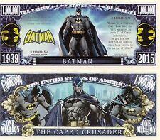 Batman - DC Comics Character Million Dollar Novelty Money