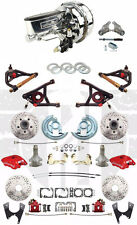 "1964-72 Chevelle Wilwood Disc Brake Kit 9"" Dual Chrome Power Booster & A Arms"