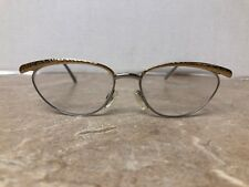 d716e582016 NEOSTYLE Germany Boutique 363 (956) Eyeglasses Frame Gold Silver Tone 53  16