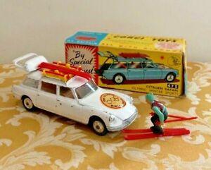 Corgi Toys No. 475 Citroen Safari Winter Sports Complete in Original Box!