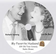MY FAVORITE HUSBAND With LUCILLE BALL - 109 Old Time Comedy Radio Shows