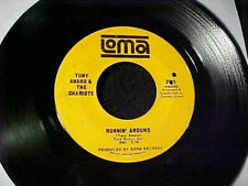 RARE OBSCURE 60s NORTHERN SOUL 45 TONY AMARO AND THE CHARIOTS Original LOMA Hear