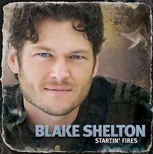 FREE US SHIP. on ANY 2 CDs! NEW CD Blake Shelton: Startin' Fires