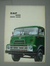 DAF  Series 2200 2400  brochure/Prospekt  (Dutch)  1966.