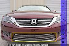 GTG 2013 - 2015 Honda Accord 4dr 1PC Polished Overlay Bumper Billet Grille Grill