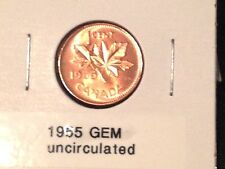 GEM Uncirculated 1955 Penny ^^BLAZE RED^^