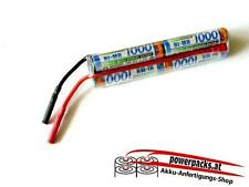 Fahr-Flugakku SANYO AAA 7.2V1000 mAh 3L,  Stecker auch frei wählbar...