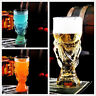 Creative World Cup Design Crystal Glass Cup Beer Water Mug Bar Party 350ml 850ml