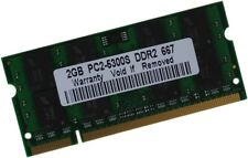 2 gb 2gb ddr2 notebook portátil de memoria RAM SO-DIMM SODIMM 667 MHz pc2-5300s nuevo