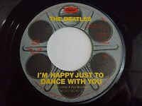 The Beatles I'm Happy Just To Dance With You / Movie Medley 45 Vinyl Record