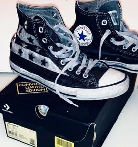 CONVERSE ALL STAR - Vintage Leather Black 42.5