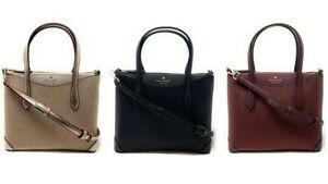 Kate Spade K4625 Small Glitter Fabric Satchel Crossbody Handbag $199