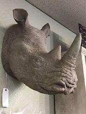 Full Size Rhino Head Realistic Rhino Bust Rhinoceroses Bust Trophy