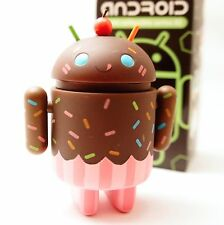 """Android 3"""" Mini Series 2 Gary Ham Chocolate Cupcake Andrew Bell Google Kidrobot"""
