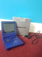 Gameboy Advance SP Blue in Original Box - Charger, Official Nintendo Game Boy