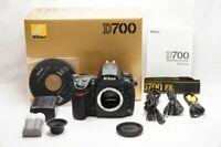 """EXCELLENT"" Nikon D700 12.1MP Digital SLR Camera Black Body Only w/ Box #200622c"
