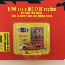 Racing Champions 1:144 Scale Diecast Replica Mini Pro Car 1997 Jim Yates Display
