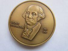 George Washington 1st President , 1789 /1797 , Bronze Medal , Vintage