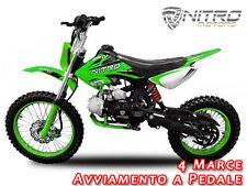 "PIT BIKE NXD 17"" BENZINA 125cc - MINICROSSminimoto  mini moto cross"