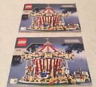 LEGO Grand Carousel Set 10196 Manual Instructions Only 2 Books Super Rare!