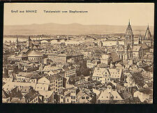 GERMANY 486.-MAINZ -Gruß aus Mainz Totalansicht vom Stephansturm