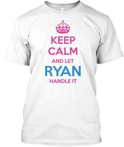 Teespring Ryan - Keep Calm Classic T-Shirt - 100% Cotton