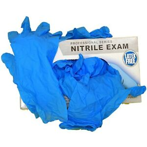 Disposable Gloves XL Large Medium Small Size Nitrile Powder/Latex Free