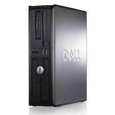 DELL Windows 7 PC CORE 2 DUO DESKTOP TOWER 4GB WiFi 160GB COMPUTER Wireless