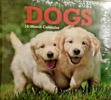 2021 Dog Mini Calendar small Desk Hanging Puppies Calendar *See Store for More*