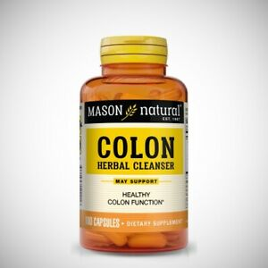 COLON HERBAL CLEANSER by Mason Natural - 100 Capsules