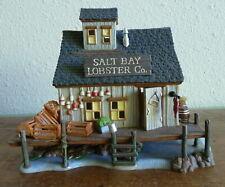 Dept 56 Salt Bay Lobster Company Lighted Building New England Village 56658