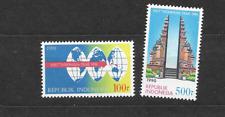 1990 MNH Indonesia Michel 1346-7 postfris**