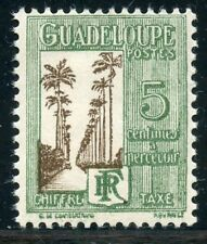 STAMP / TIMBRES COLONIES FRANCAISES NEUF CHARNIERE / GUADELOUPE TAXE N° 27