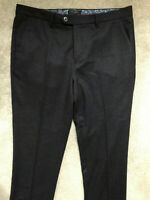 "TED BAKER MEN'S BURGUNDY ""CLOOTRO"" WOOL BL TROUSERS PANTS CHINOS - 36R - NEW"