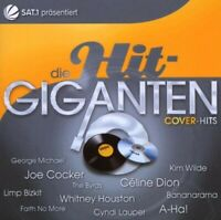 "DIE HIT GIGANTEN ""COVER HITS 2CD JOE COCKER KIM WILDE A-HA CELINE DION BYRDS NEU"