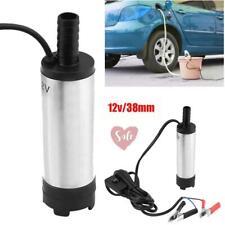 Auto Tauchpumpe 12V Diesel Öl Heizöl 38mm 12 l / min Wasserpumpe Transferpume DE