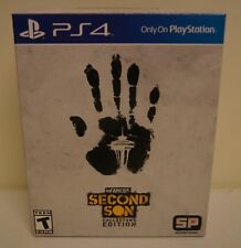 New! inFamous: Second Son [Collector's Edition] (Sony PlayStation 4, 2014)