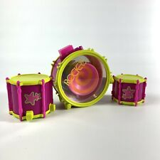 Mattel 1986 Barbie and The Rockers Drum Piece That Spins With Additional Drums