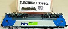 BLS Cargo E 185 Angel TRAINS FLEISCHMANN 738506 N 1:160 NIP HQ3 µ