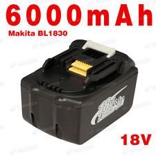 NEW 18V 6.0Ah LITHIUM ION BATTERY LXT FOR MAKITA BL1830 UK LATEST PACK