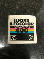 Ilford ilfocolor 400 Color 24 exp 35 mm expired film Lomo kodak fuji agfa RARE